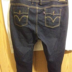 Levi's Women Capri Pants Sz. 22